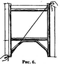 Рис. 6. Спинка кроватки