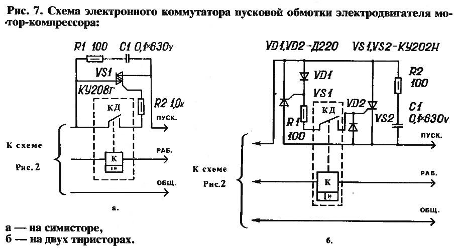 Рис. 7. Схема электронного