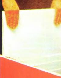 Рис. 7. Шпаклевка перегородок между отсеками
