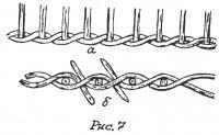 Рис. 7. Веревочка в два прута