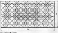 Рис. 8. Общий вид ковра «Гвоздика»