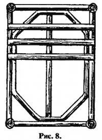Рис. 8. Рама кроватки