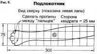 Рис. 9. Подлокотник