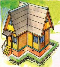 Рисунок домика