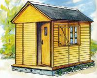 Рисунок готового домика