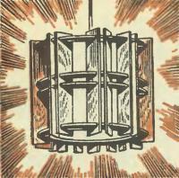 Рисунок готового светильника