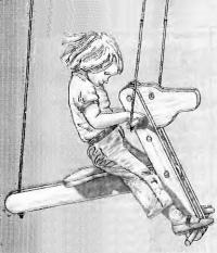 Рисунок качелей