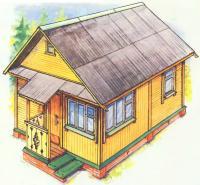 Рисунок летнего домика