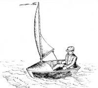 Рисунок швертбота «Оса»