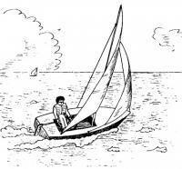 Рисунок швертбота «Пионер»
