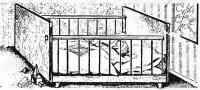 Рисунок собранной кроватки
