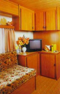Шкафы и телевизор
