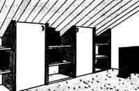 Скошенные потолки