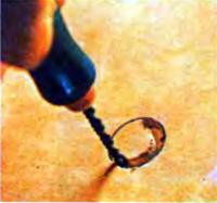 Сверление прорезным резцом