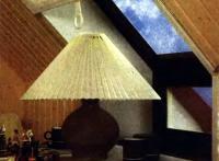 Светильник с абажуром