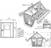 Устройство и размеры земляного погреба