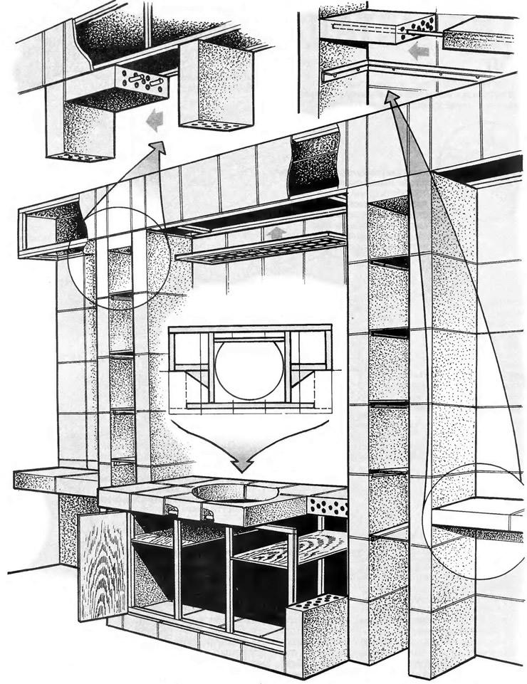 Устройство основных узлов конструкции