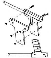 Устройство пилки-пистолета