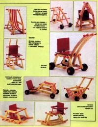 Варианты трансформации кресла «Топ-Банана»