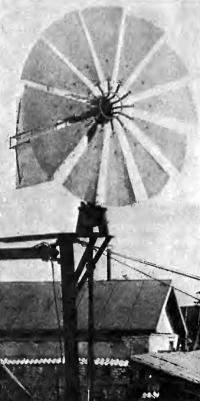 Ветряной двигатель: при ветре дом не останется без освещения