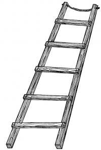 Внешний вид лестницы