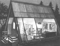 Внутренняя планировка домика
