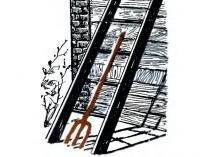 «Якорь» для лестницы